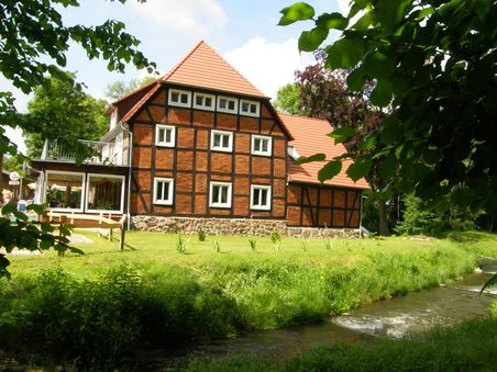 Insel-Hotel auf der Ferieninsel am Dobbertiner See