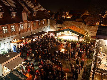 Burg-Weihnacht in Neustadt-Glewe