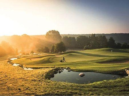 Natur pur beim Golfen!