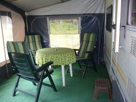 Krüger Naturcamping - Wohnwagenvermietung