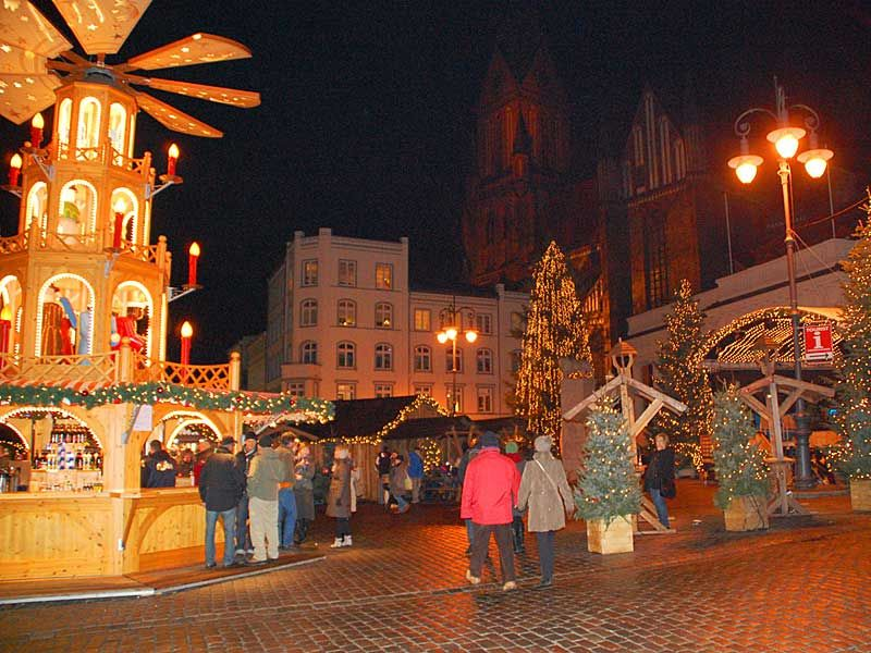 Besuch des Schweriner Weihnachtsmarktes